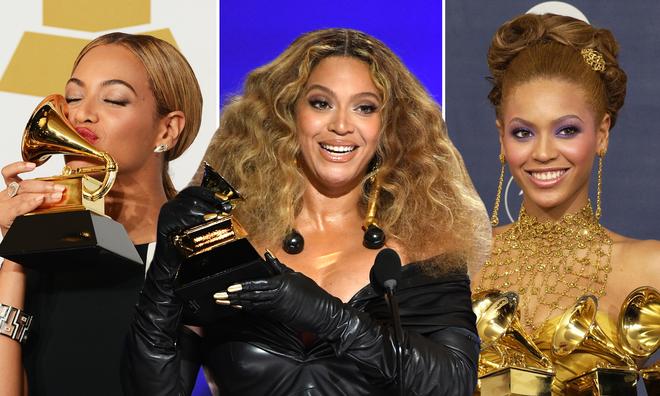 How many Grammy Awards has Beyoncé won?