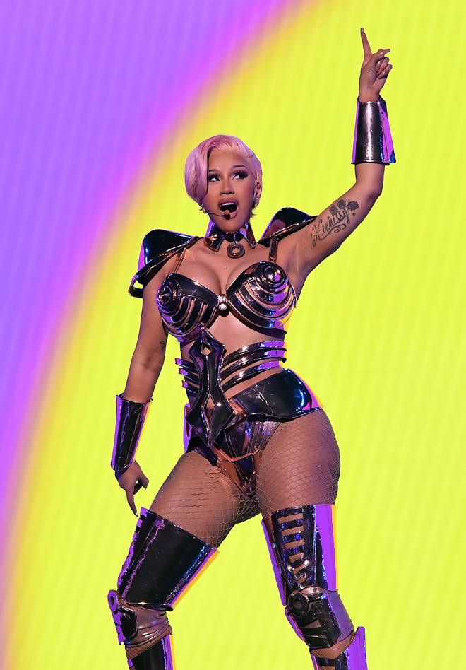 Cardi B performed 'WAP' at the Grammys.