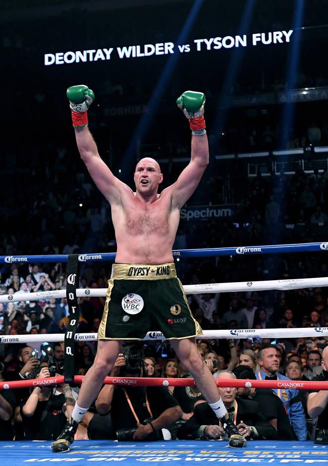 Joshua holds the WBA, WBO and IBF belts, while Fury has the WBC title.