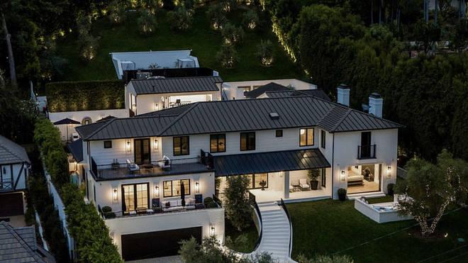 Rihanna's Beverly Hills Mansion