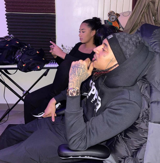 Many fans think Young Adz and his girlfriend are married.