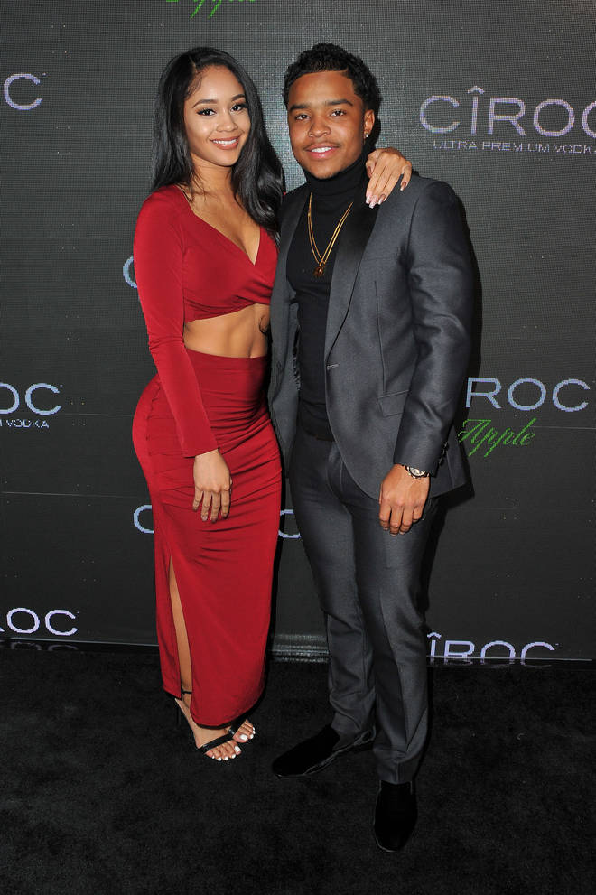Saweetie dated Justin Combs following her split from Keith Powers.