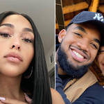Jordyn Woods responds to claims boyfriend Karl-Anthony Towns cheated on her.
