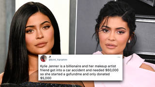 Kylie Jenner responds to backlash over 'asking fans to donate' to Samuel Rauda's GoFundMe