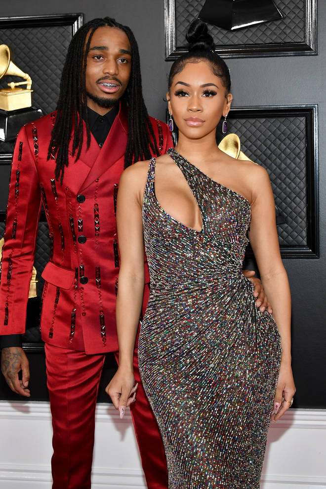Quavo and Saweetie dated for three years until their split in March 2021.