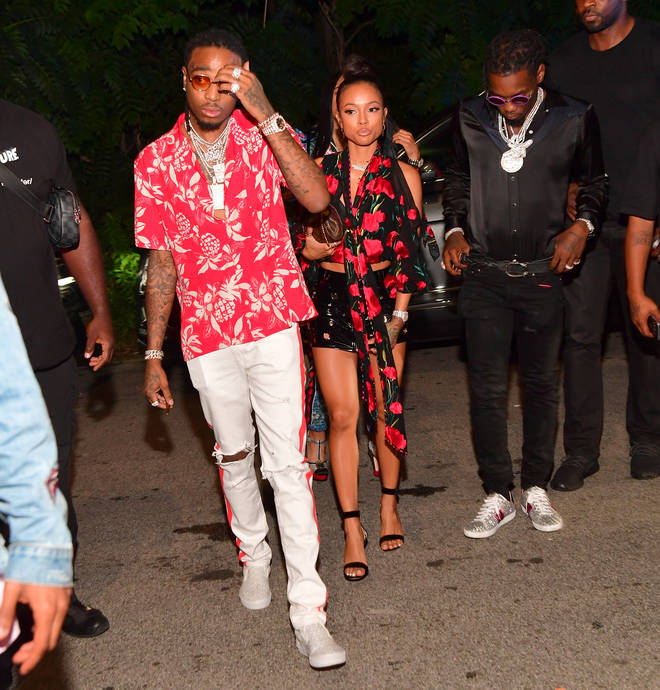 Karrueche Tran and Quavo are thought to have dated in 2017.