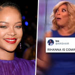 Rihanna teases a new song sparking hilarious fan reactions