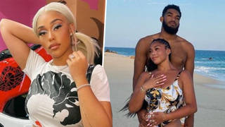 Jordyn Woods sparks rumours she's engaged to Karl-Anthony Towns with 'cryptic' post