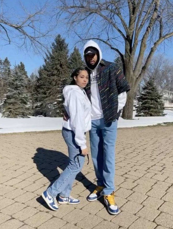 Jordyn Woods is in a relationship with NBA star Karl-Anthony Towns