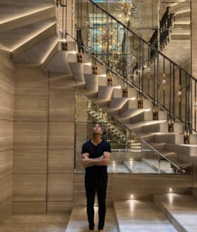 Drake began custom-building his Toronto mansion in 2019.