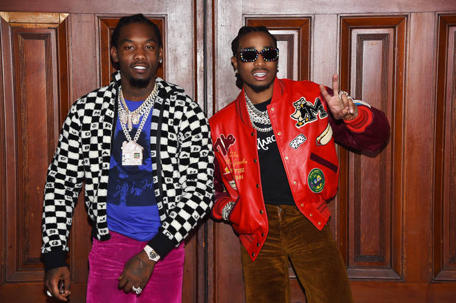 """Offset &squot;likes&squot; Trouble&squot;s Instagram video, where he is claiming Quavo is """"innocent"""" in the fight he had with Saweetie."""