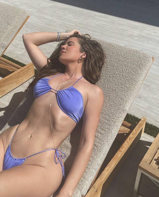 Khloe Kardashian flaunts her body in bikini photos on Instagram