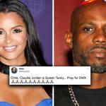 "Claudia Jordan tweets ""Rest In Paradise DMX"" sparking outrage online"