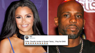 "Claudia Jordan tweets ""Rest In Paradise DMX"" sparking outrage online"