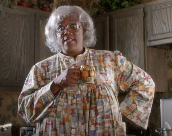 Tyler Perry plays the character 'Madea' in the films he has produced.