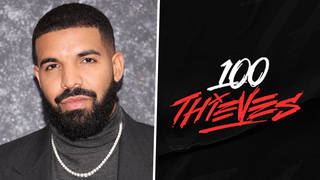 Does Drake own 100 Thieves?