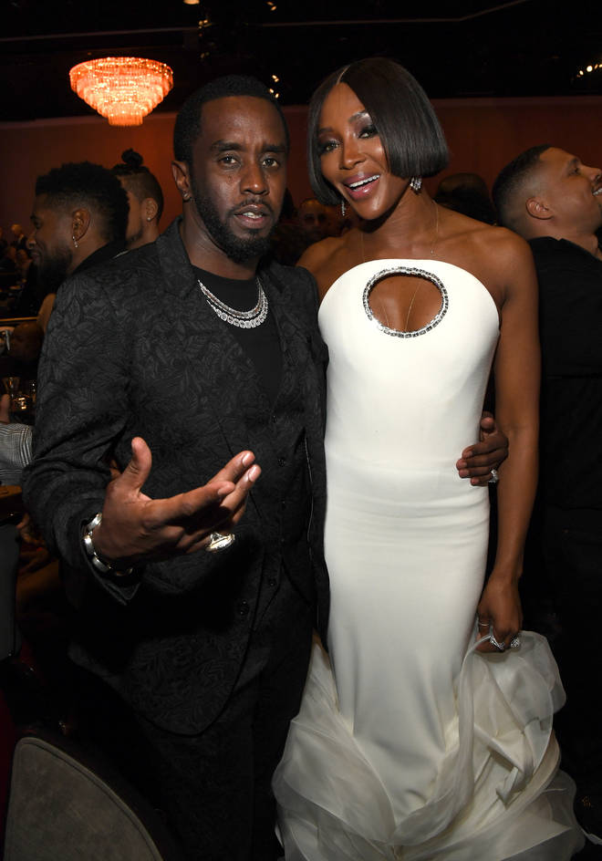 Diddy and Naomi Campbell