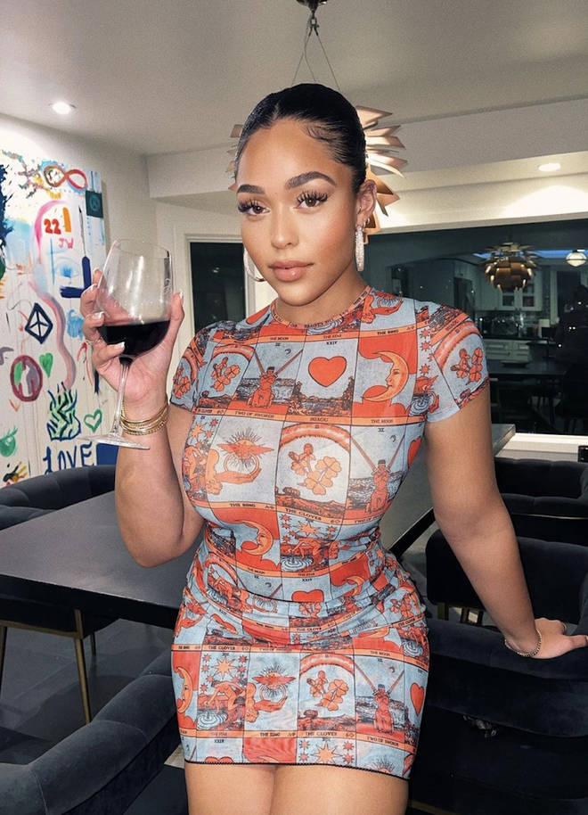 Jordyn shared the moment she received a selection of cleaning products from Safely, the momager's new collaborative brand with Chrissy Teigen.