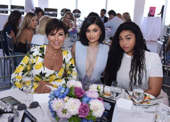 Jordyn (right) was frozen out of the Kardashian-Jenner family after the Tristan Thompson scandal.