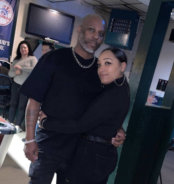 DMX was engaged to longtime partner Desiree Lindstrom until his death.