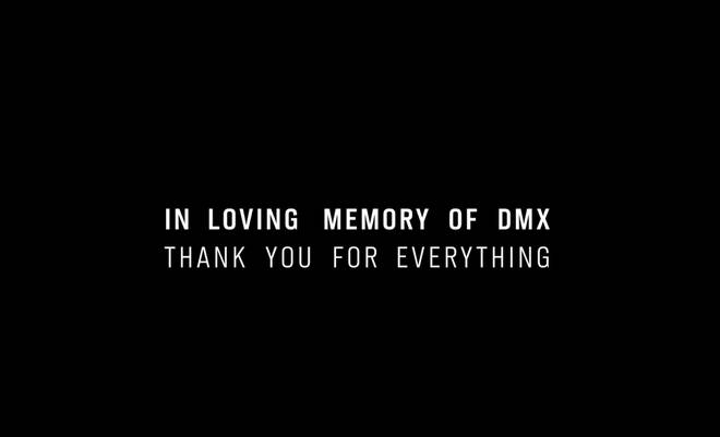 "AJ Tracey left a heartfelt message at the end of the music video reading, ""In loving memory of DMX. Thank you for everything."""