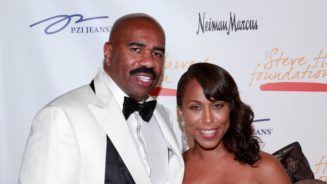 Steve Harvey is married to Majorie Harvey, who is Lori Harvey's mother.