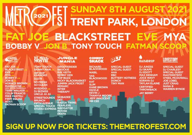 Metro Fest Lineup
