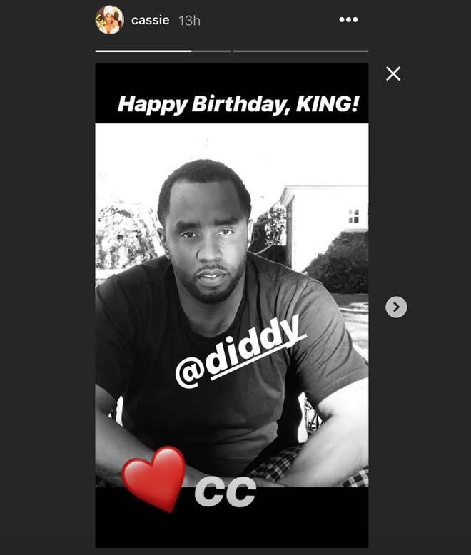 Cassie Wishes Diddy a Happy Birthday