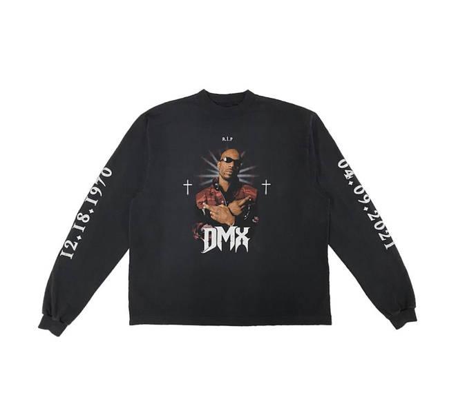 DMX honoured with Yeezy. X Balenciaga merch