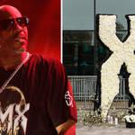 What happened between DMX's friend Jungle and Pastor AR Bernard at the memorial?