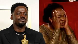 Daniel Kaluuya shocks his mother with embarrassing sex joke during Oscars speech