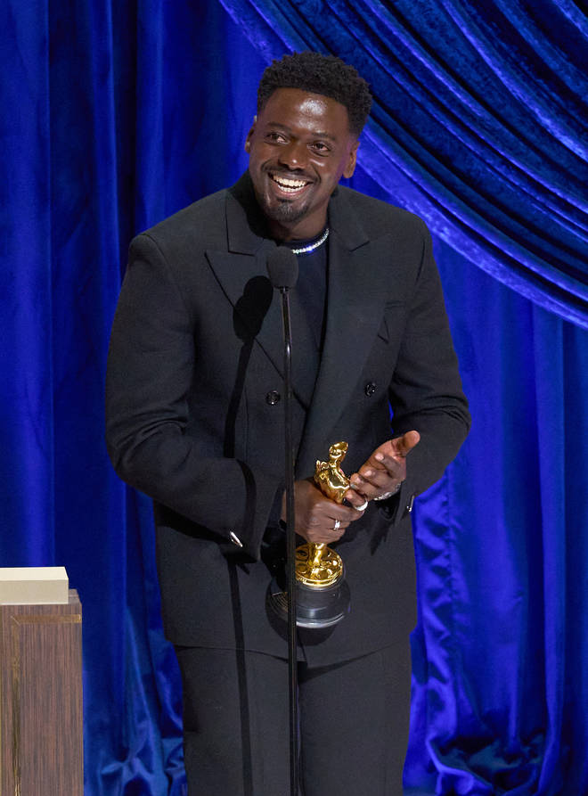 The British actor won the award for Best Supporting Actor for his role in Judas and the Black Messiah.
