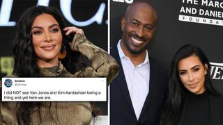 Kim Kardashian & Van Jones dating rumours reignite amid Kanye West divorce