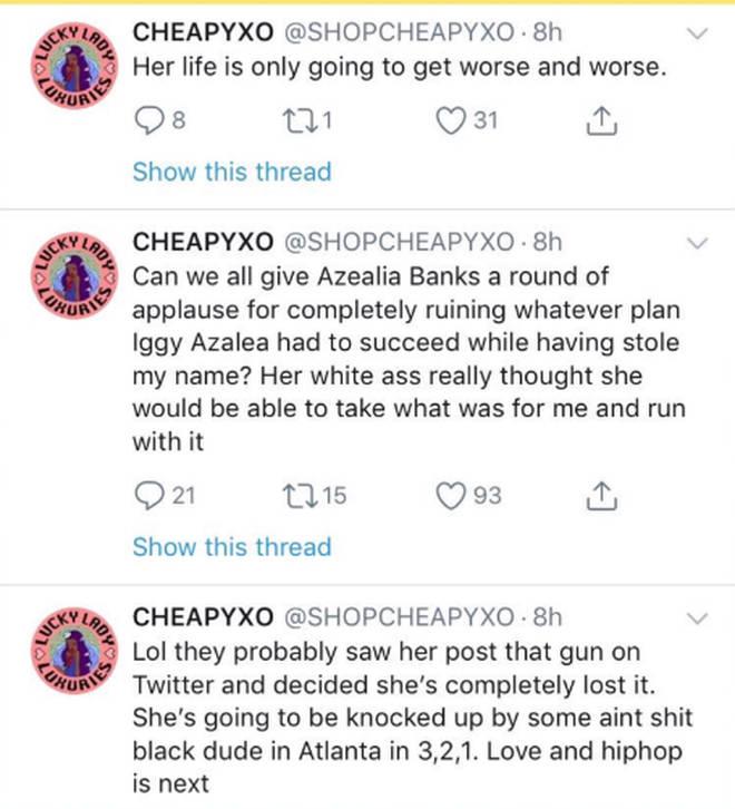 Azealia Banks Dissing Iggy Azalea