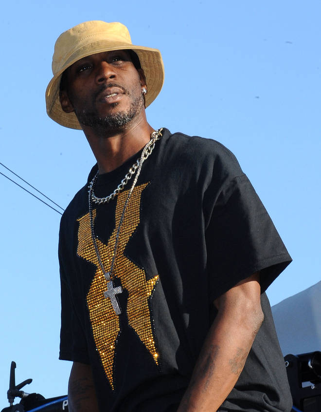 DMX rose to fame in the 1990s, releasing his first album 'It's Dark and Hell Is Hot' in 1998.