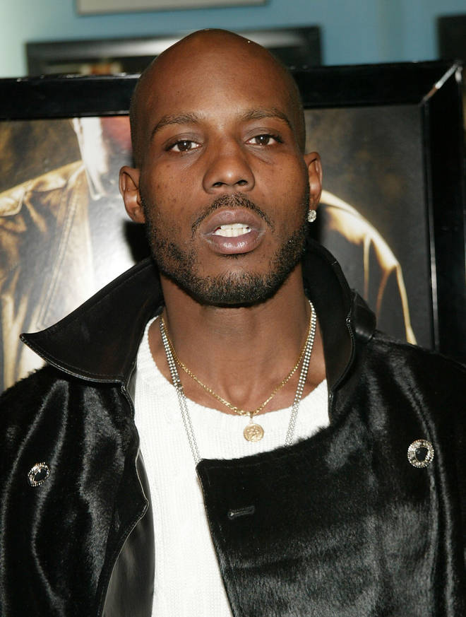 """DMX attends the New York Premiere of """"Never Die Alone"""" on March 24, 2004."""