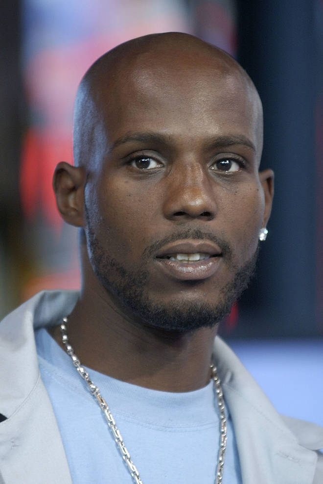 DMX appears on MTV TRL in the MTV Times Square Studios in New York City in 2003.