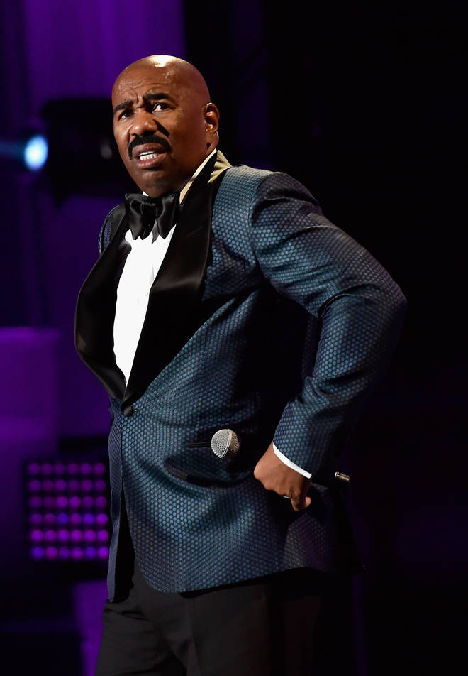 Steve Harvey has been blasted on social media for claiming men can't have friendships with women.