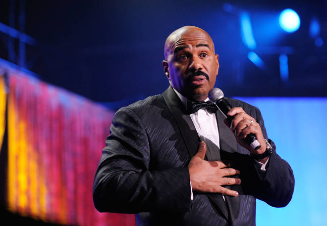 Steve Harvey was promoting his controversial book 'Straight Talk, No Chaser: How to Find, Keep, and Understand a Man' at the time of the interview.