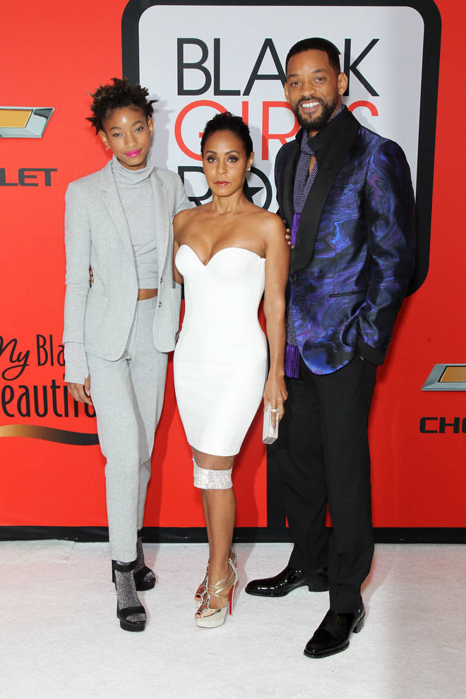 Jada Pinkett-Smith and Will Smith welcomed Willow Smith on October 31st 2000.