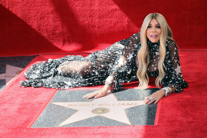 Wendy Williams has been honoured with a star on the 'Hollywood Walk Of Fame'