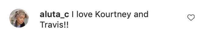 Fans love Kourtney and Travis Barker together.