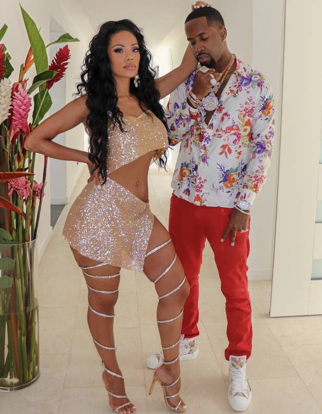 Erica Mena and Safaree Samuels tied the knot in New Jersey on October 7th, 2019.