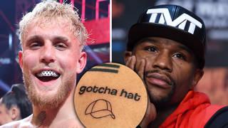 Jake Paul taunts Floyd Mayweather with 'gotcha hat' tattoo following their mass brawl
