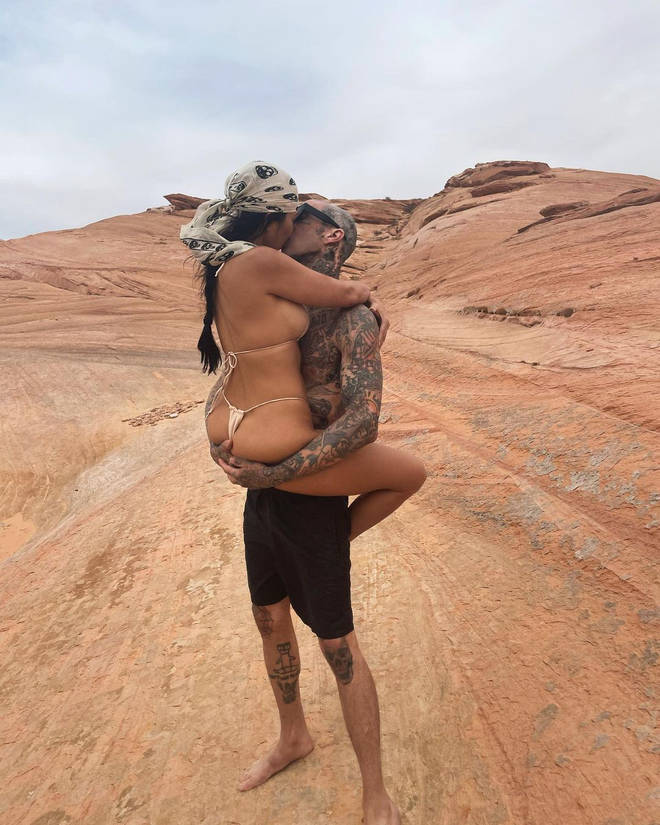The Blink 182 drummer has been dating the reality star for around five months now.