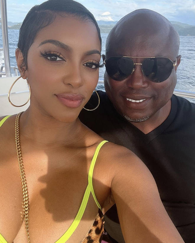 Porsha Williams shares a photo of her and Simon Guobadia on a luxurious boat together.