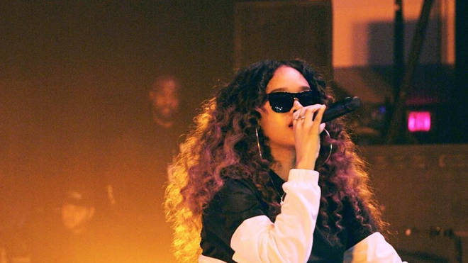 H.E.R Performing On Stage