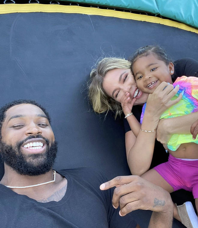 Tristan Thompson and Khloe Kardashian welcomed their daughter True in 2018.