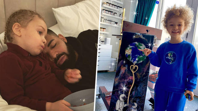 Drake's son Adonis: 13 cute photos and videos of the rappers child