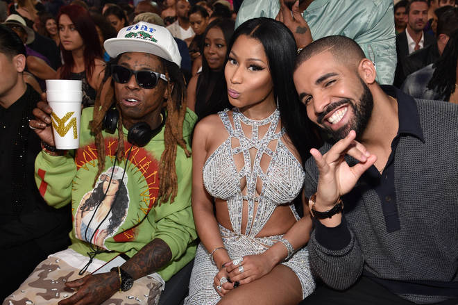 Fans are excited to hear Nicki, Drake & Wayne on a track together.
